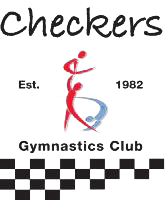 Checkers Gymnastics