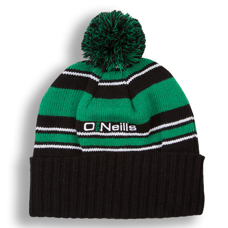 91a1e03176e Bobble Hat (Black Green White)