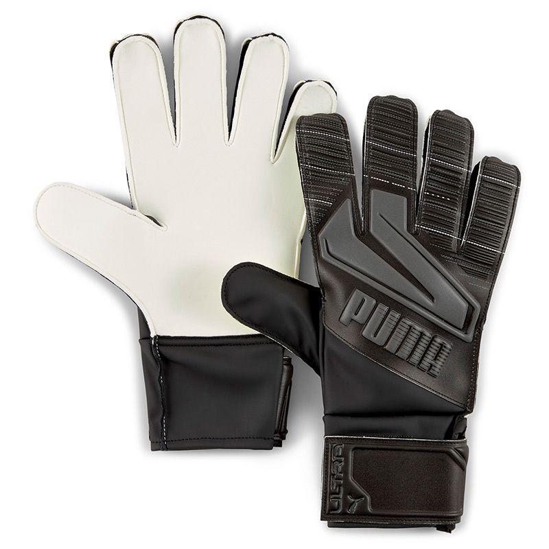 Puma Ultra Grip 4 Senior Goalkeeper Gloves Black / Asphalt