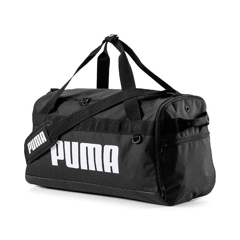 Puma Challenger Small Duffel Bag Black / White