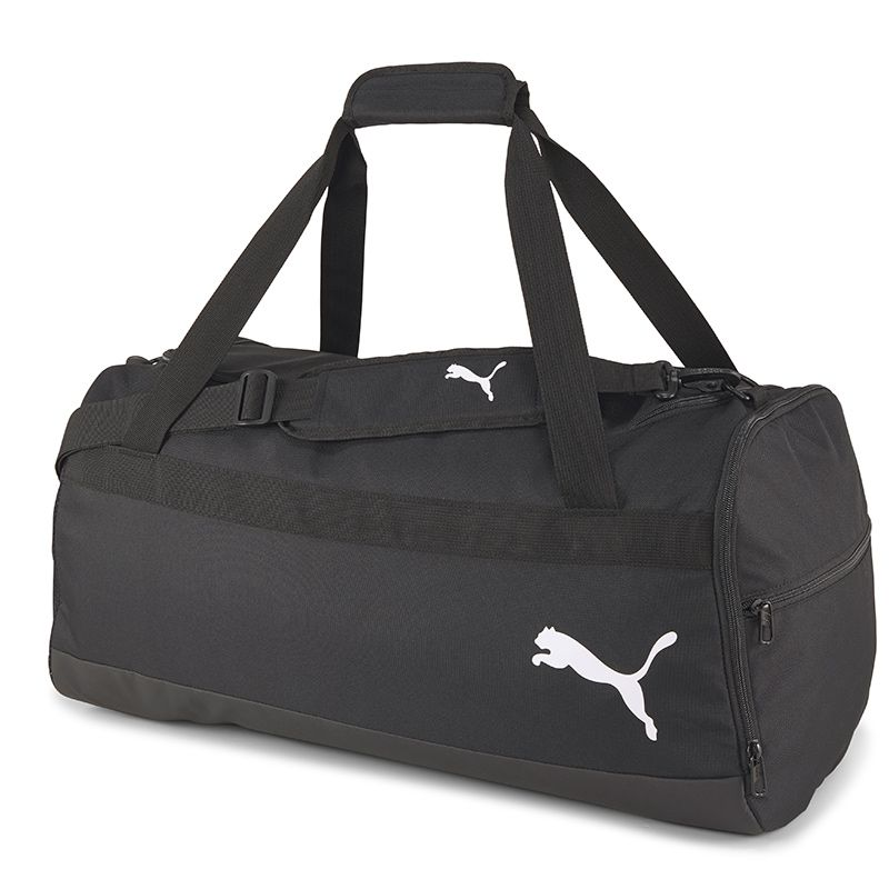 Puma Team Goal 23 Duffle Bag Medium Black / Gold / White