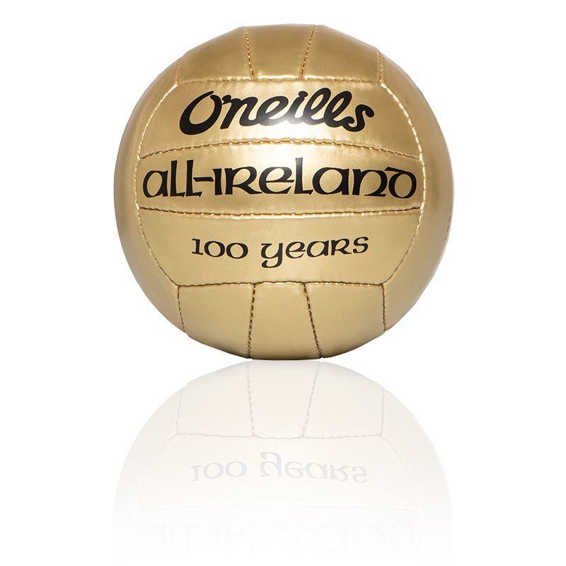 Mini All Ireland Football 100 Year Edition (Gold)