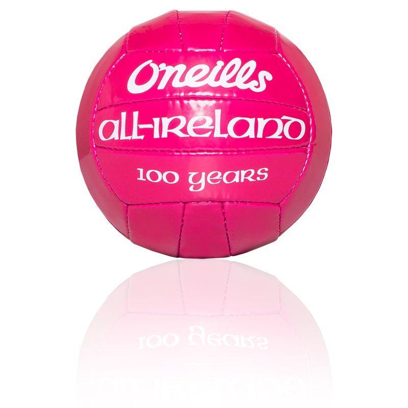 Mini All Ireland Football 100 Year Edition (Pink)