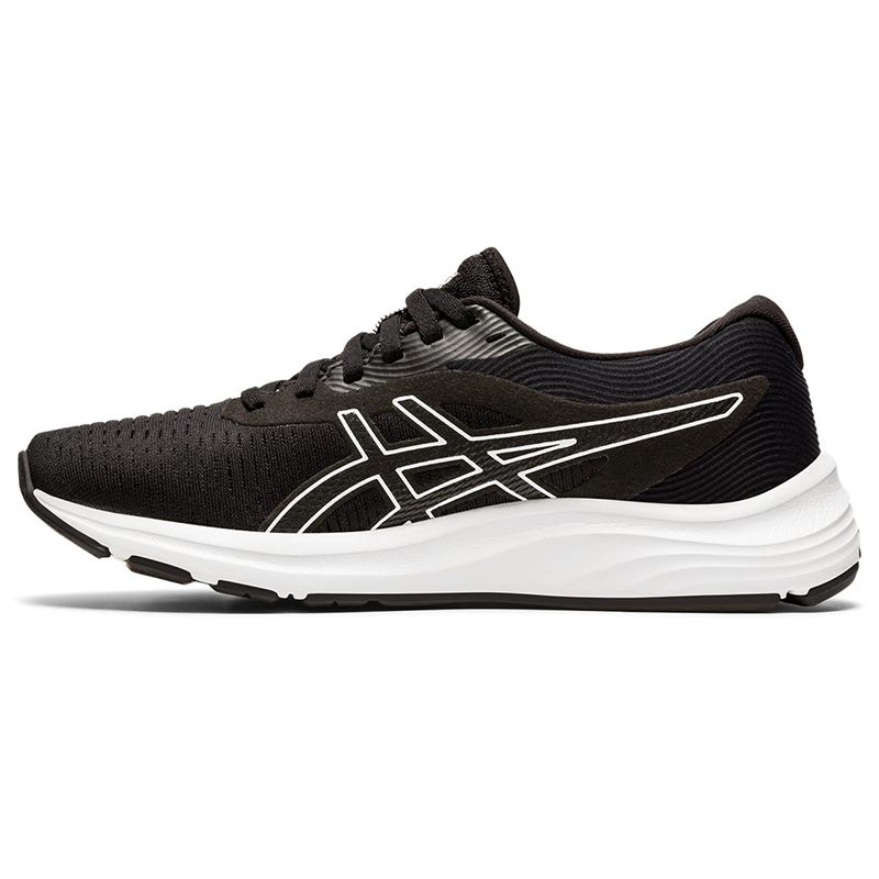 Asics Womens Gel-Pulse 11 Running Shoes Trainers Black White Sports Breathable