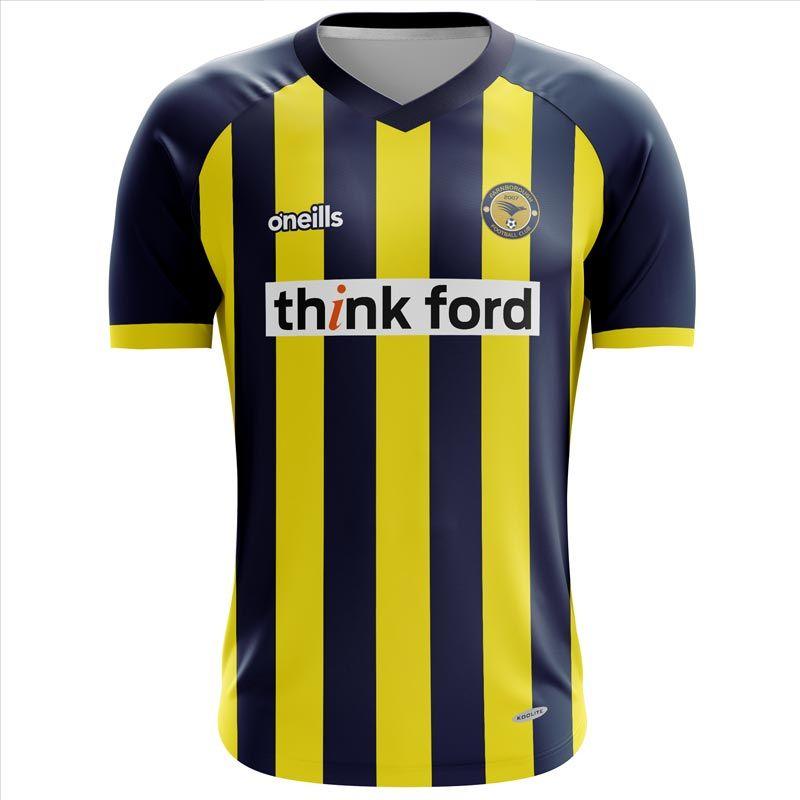 Farnborough Football Club Kids' Soccer Jersey (Home)
