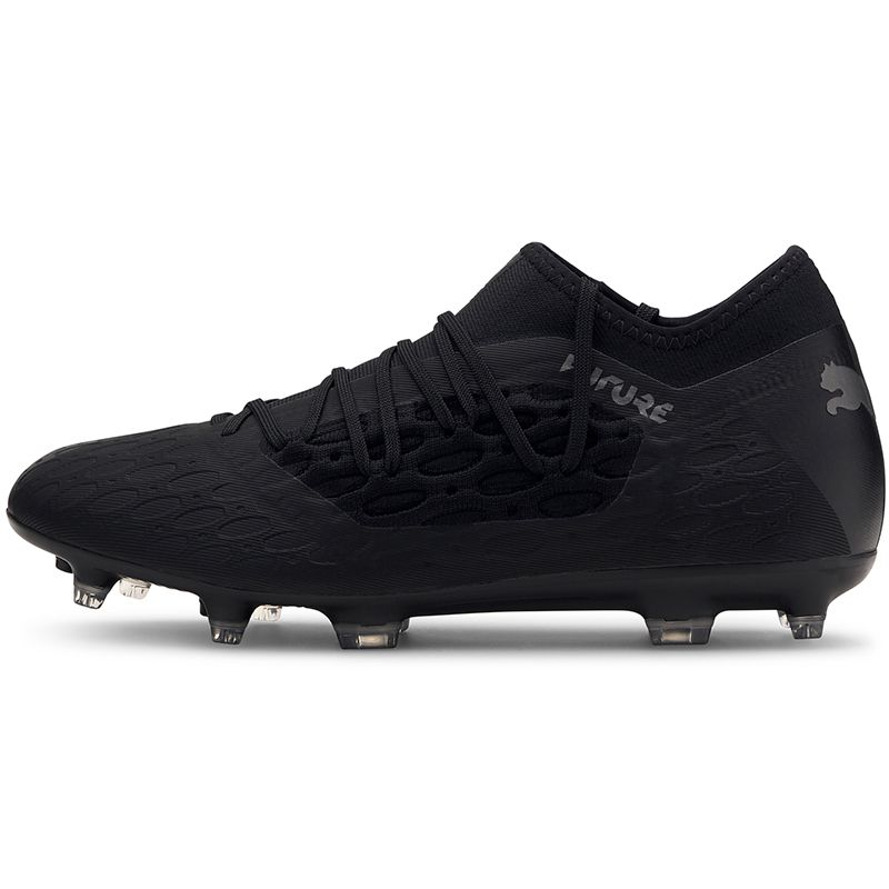 Men's Puma Future 5.3 Netfit Eclipse FG/AG Football Boot Black / Asphalt