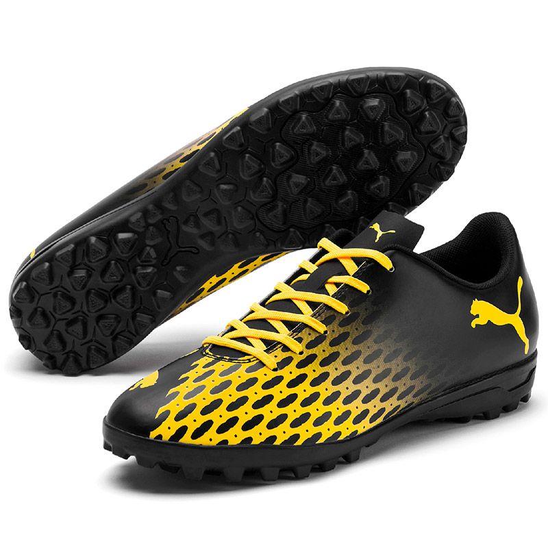 Men's Puma Spirit III TT Football Boot Yellow / Black