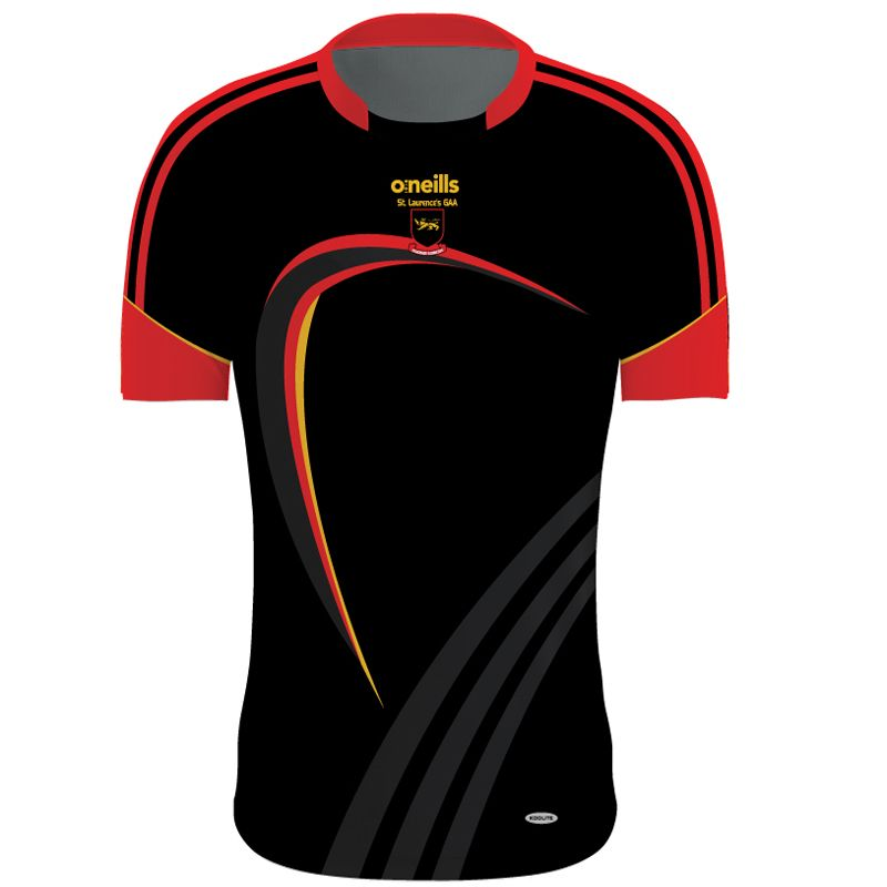 St Laurences GAA Jersey (Black)