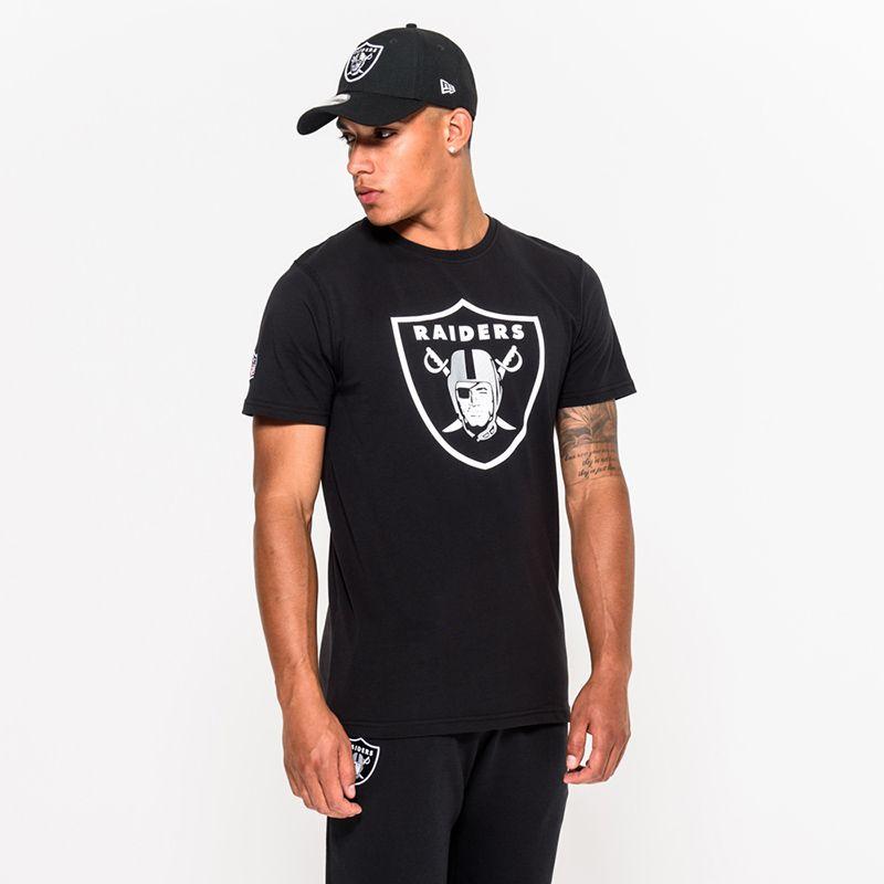 Men's New Era Las Vegas Raiders T-Shirt  Black / White