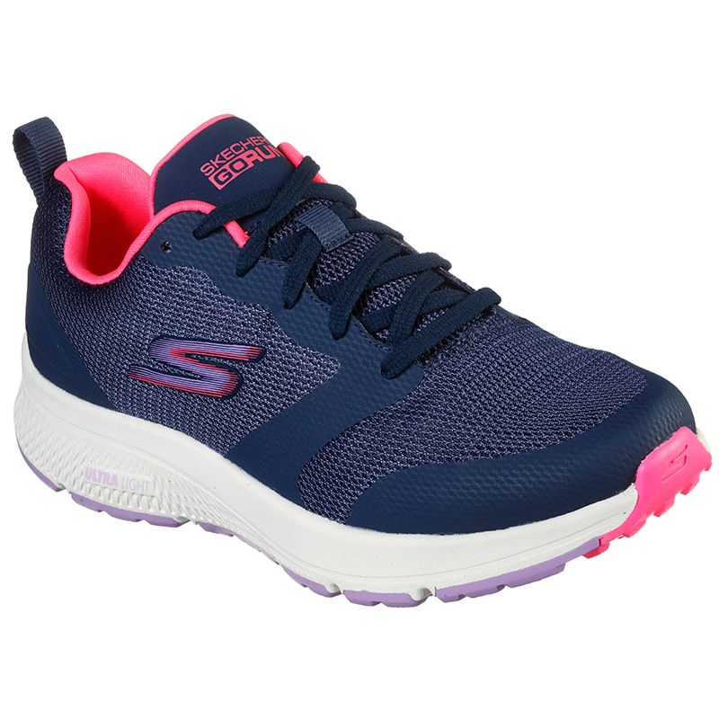 Women's Skechers GOrun Consistent - Fearsome Trainers Navy / Multi