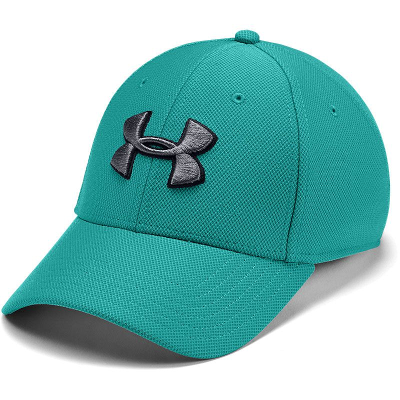Under Armour Heathered 3.0 Stretch Fit Cap Green