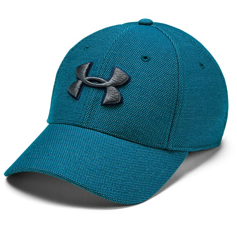 Under Armour Heathered Blitzing 3.0 Stretch Fit Cap Green