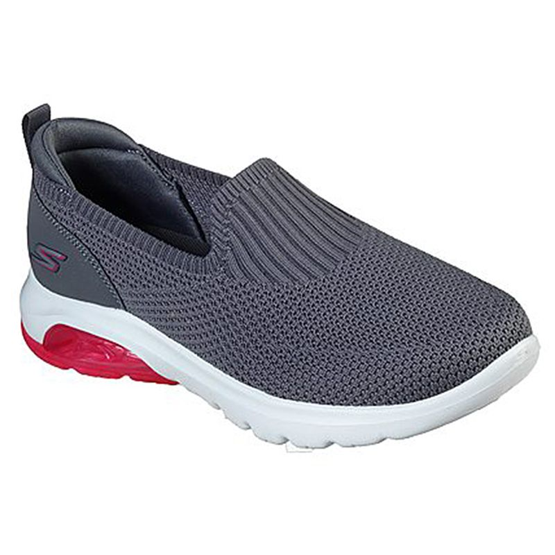 Women's Skechers GOwalk Air™ Trainers Charcoal / Hot Pink