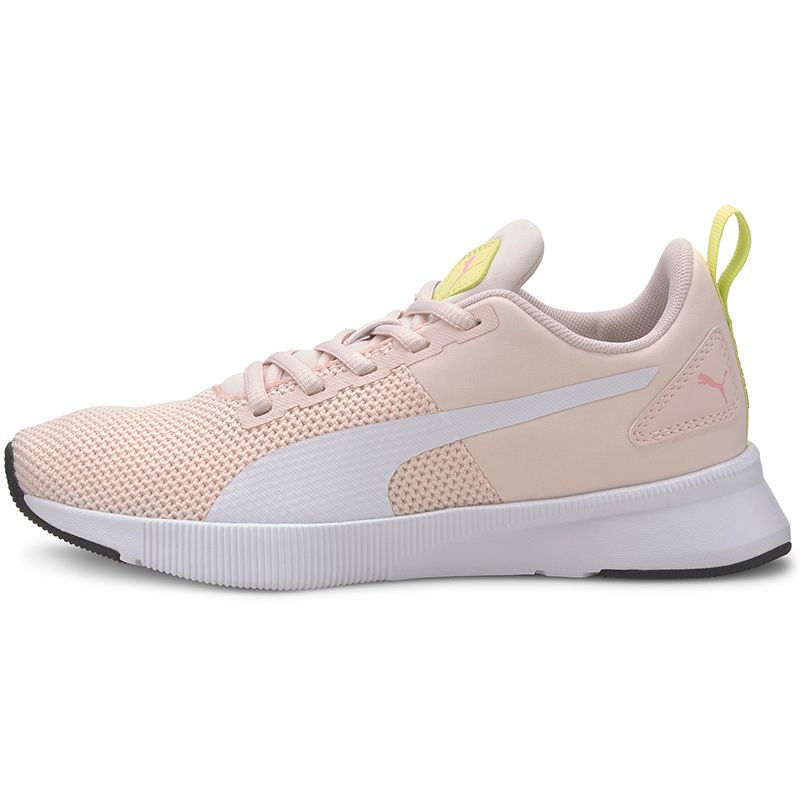 Kids' Puma Flyer Junior Trainers Rosewater / White / Lime