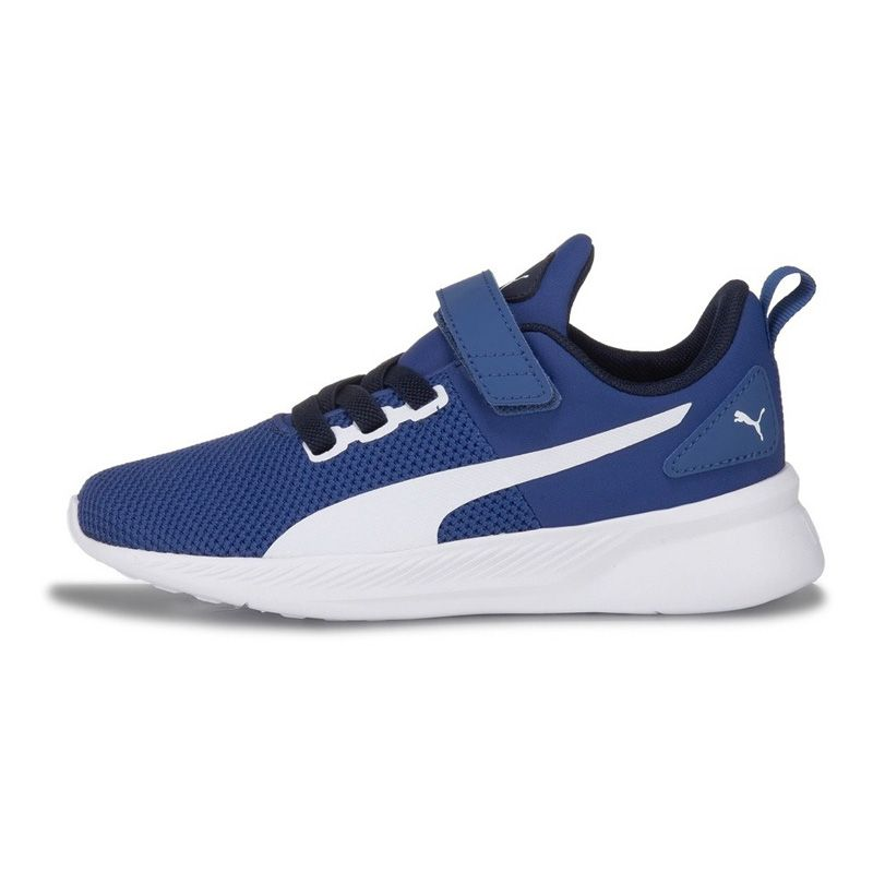 Kids' Puma Flyer PS Trainers Galaxy Blue / White / Peacoat