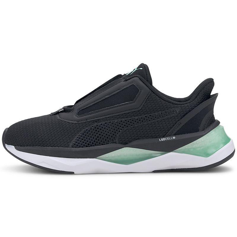 Women's Puma LQDCELL Shatter XT NC Training Shoes Black / Green Glimmer