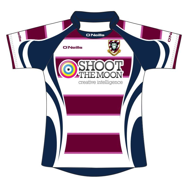 Rochdale RUFC Kids' Rugby Jersey (Maroon)