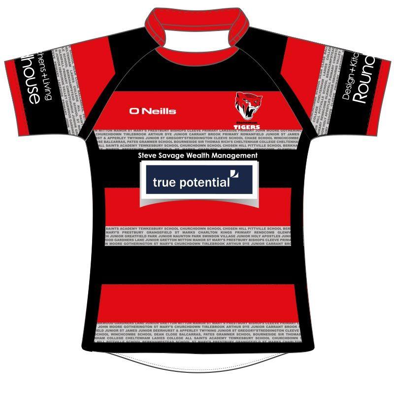 Cheltenham Tigers U11 Rugby Jersey
