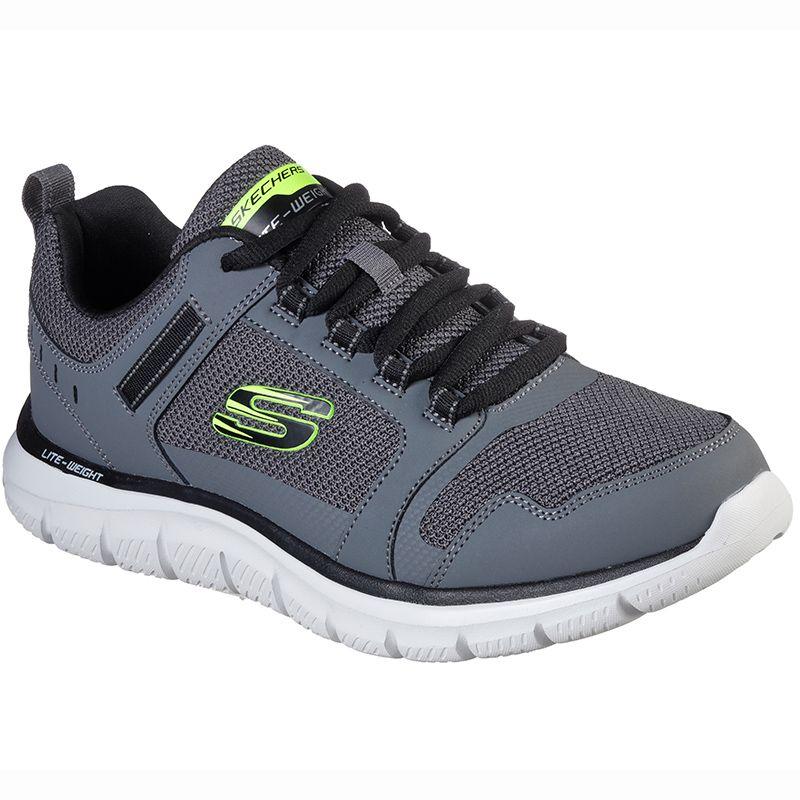 Men's Skechers Track - Knockhill Sport Shoes Charcoal / Black