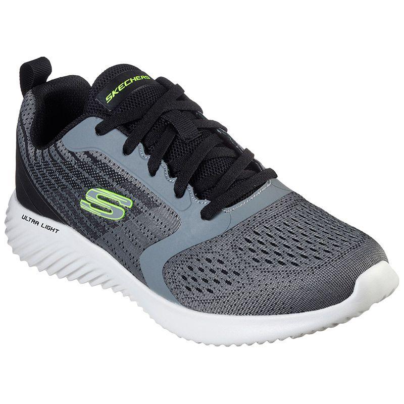 Men's Skechers Bounder - Verkona Sports Shoes Charcoal