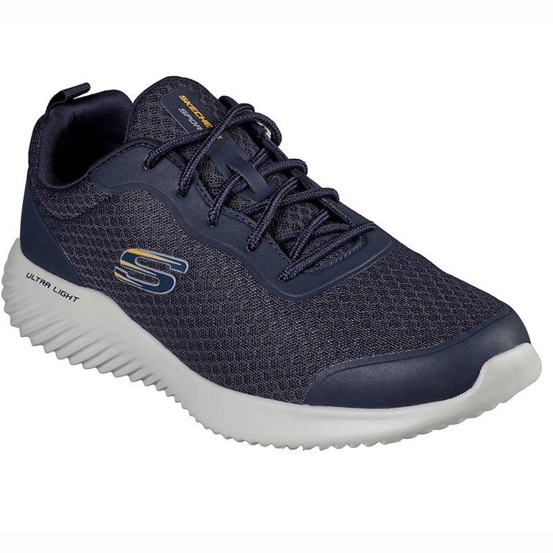 Men's Skechers Bounder - Voltis Sport Shoes Navy