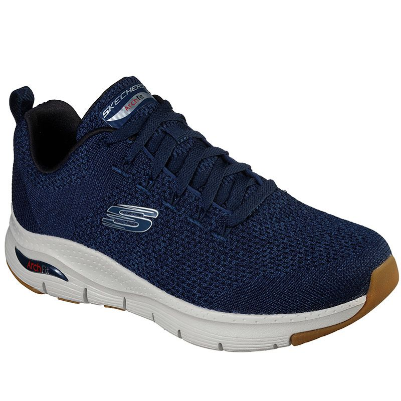Men's Skechers Arch Fit Paradyme Trainers Navy