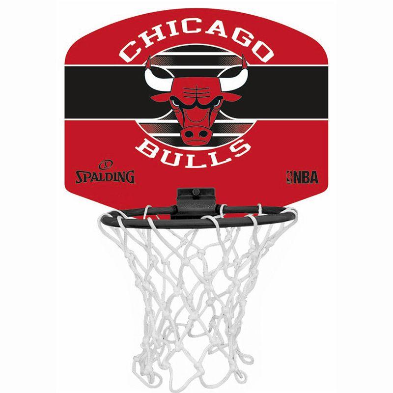 Spalding NBA Chicago Bulls Mini Basketball Hoop Set