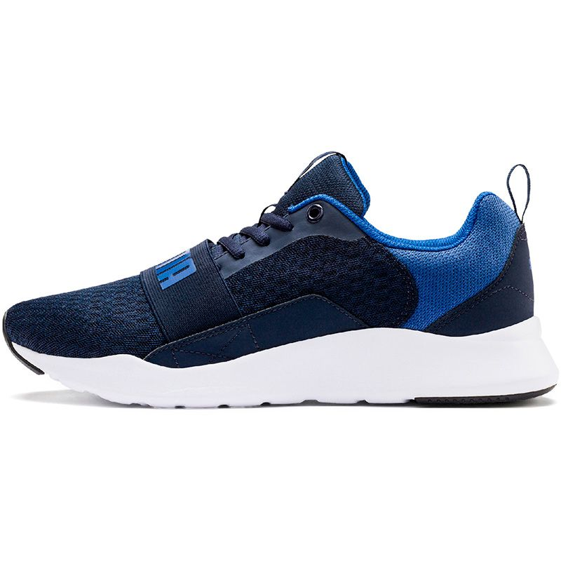Men's Puma Wired Trainers Peacoat / Galaxy Blue