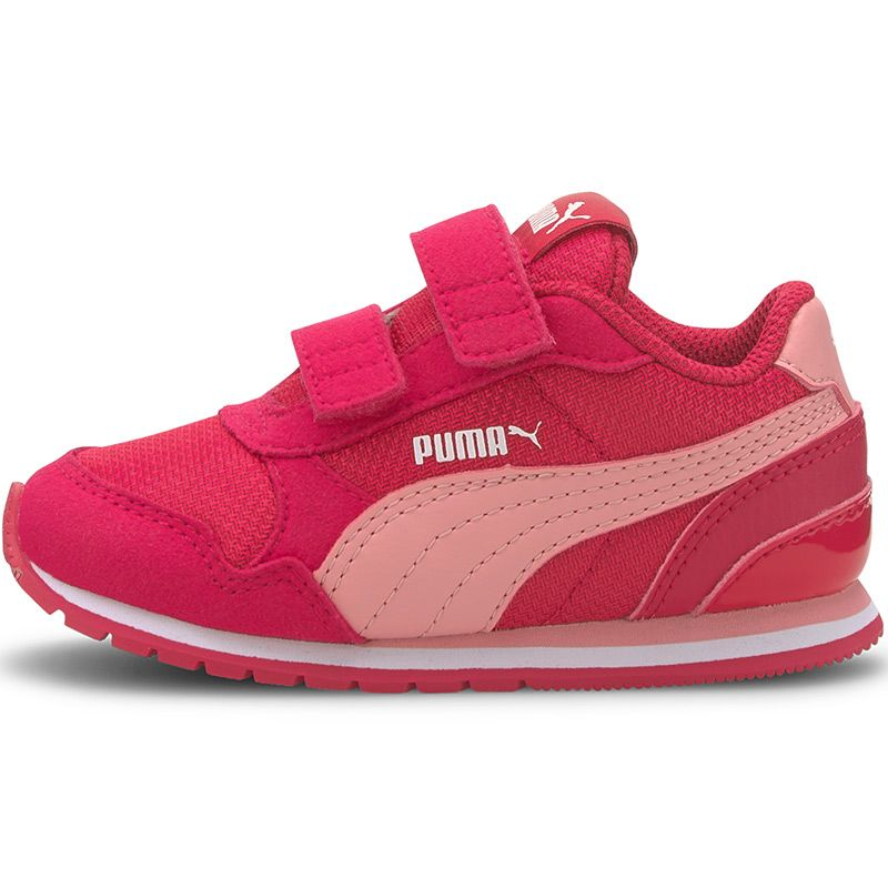 Kids' Puma ST V2 Mesh AC Infant Trainers Bright Rose / Peony / White