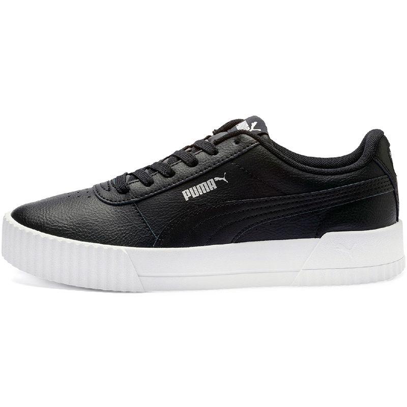 Puma Carina Leather Trainers Black
