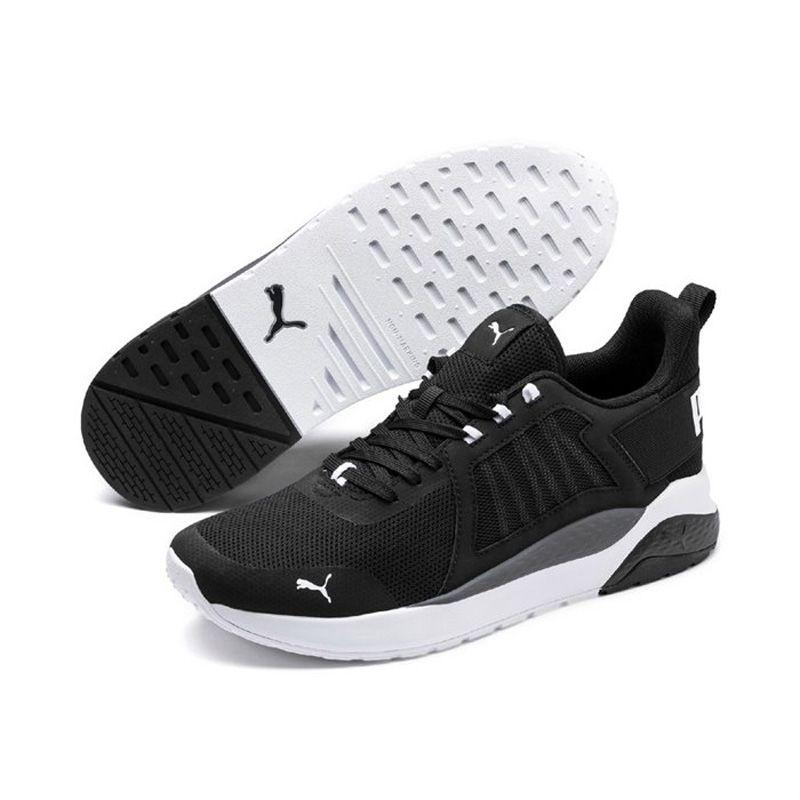 Men's Puma Anzarun Trainers Black / White