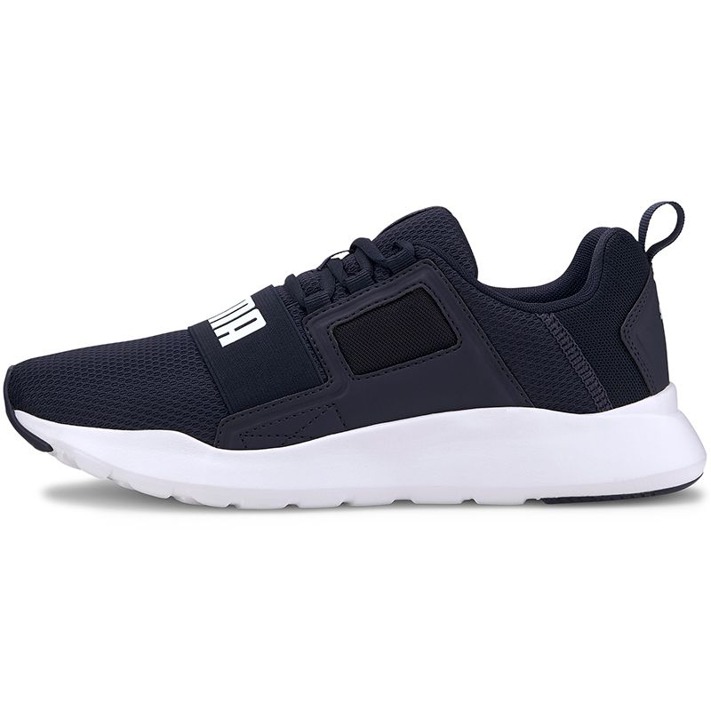 Men's Puma Wired Cage Trainers Peacoat / White