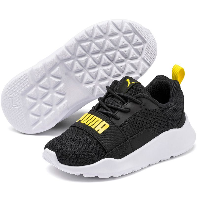 Kids' Puma Wired Infant Trainers Black / Meadowlark