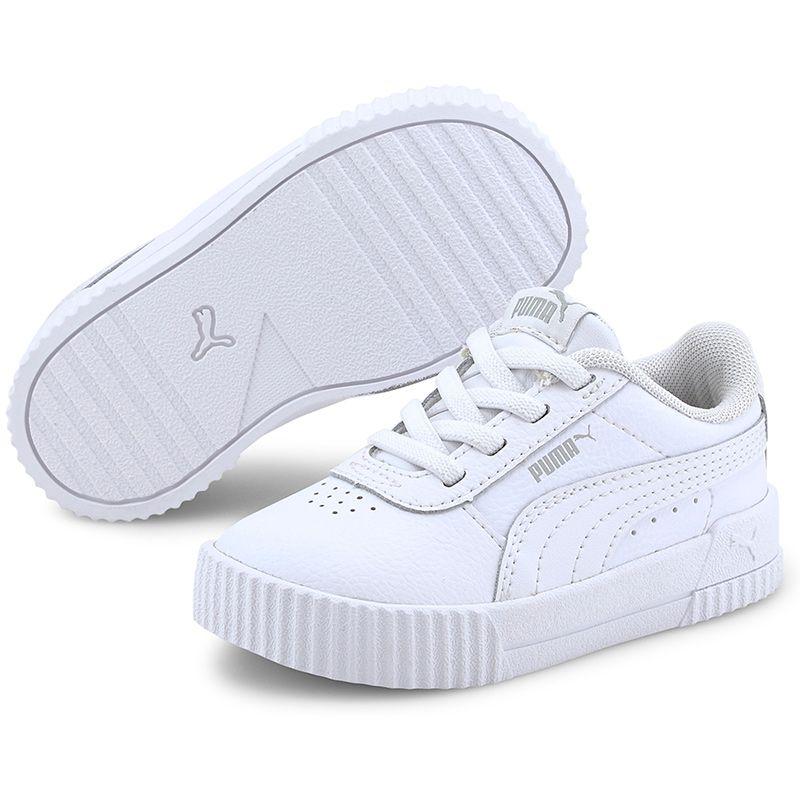 Kids' Puma Carina L AC Infant Trainers White