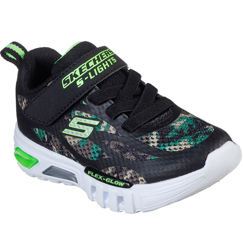 Buena voluntad Húmedo Compulsión  Kids' Skechers S Lights: Flex-Glow Rondler Infant Trainers Camo |  oneills.com