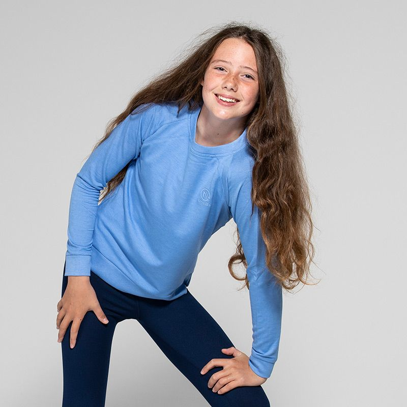 Kids' Esme French Terry Sweatshirt Blue