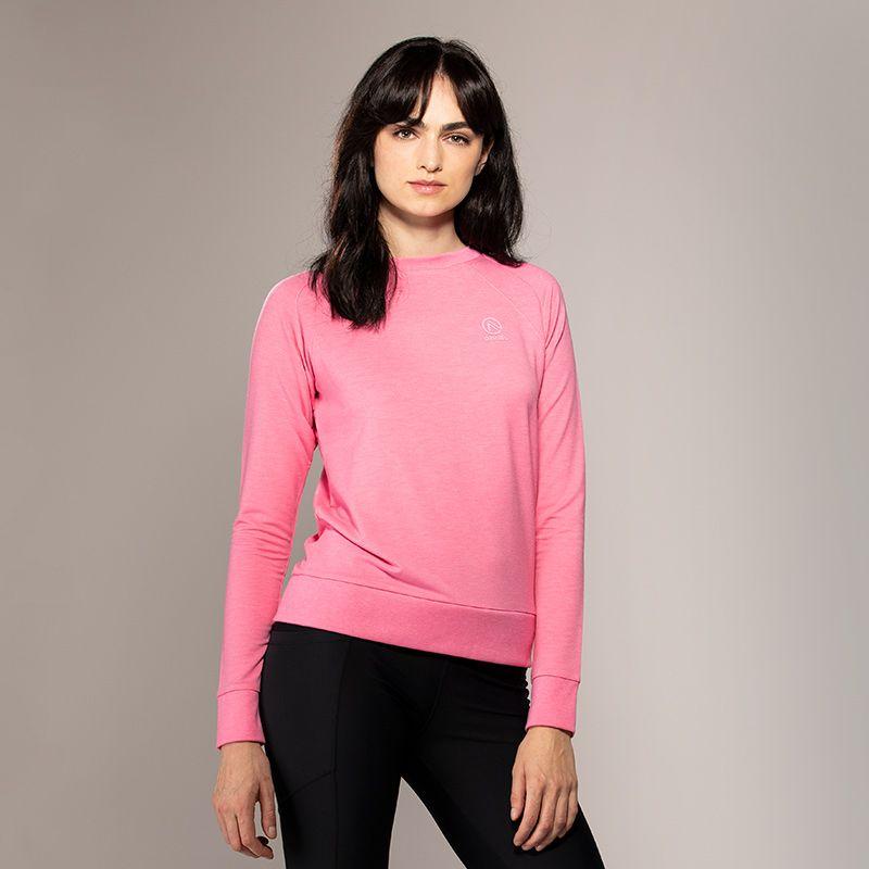 Women's Esme French Terry Sweatshirt Pink