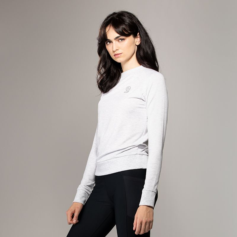 Women's Esme French Terry Sweatshirt Grey