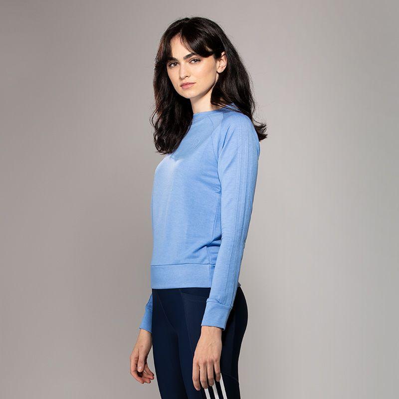 Women's Esme 3 Stripe French Terry Sweatshirt Blue