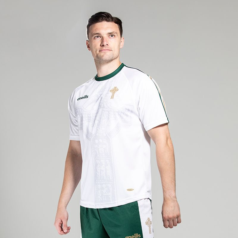 Celtic Cross Jersey White
