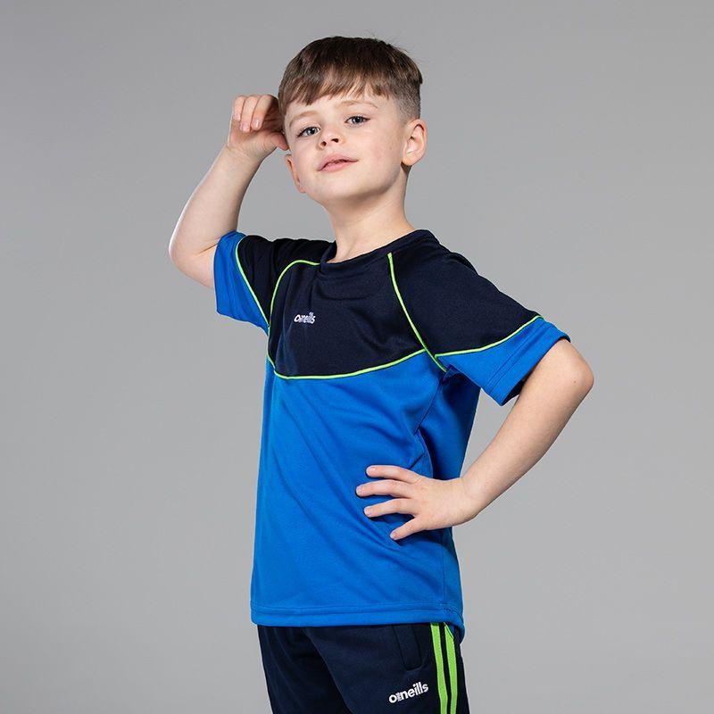 Kids' Jude T-Shirt Blue / Marine / Green