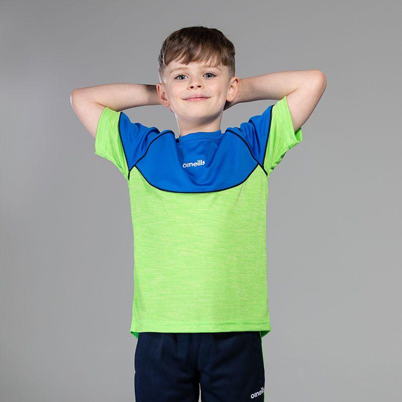 Kids' Jude T-Shirt Green / Blue