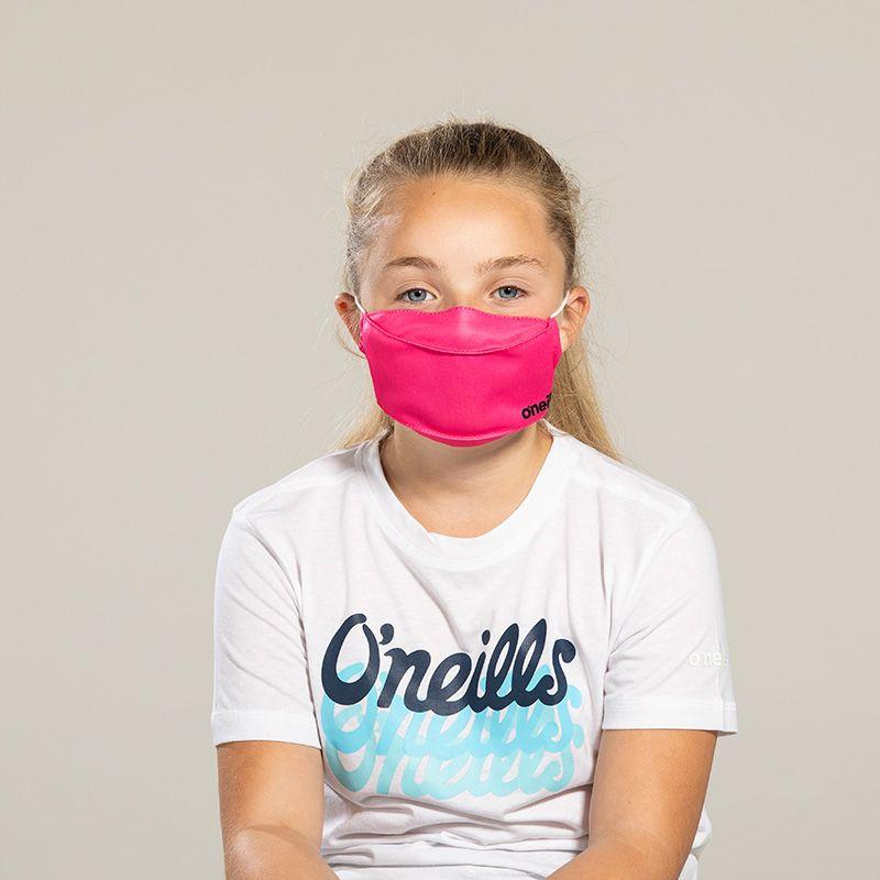 Kids' Reusable Face Mask Pink