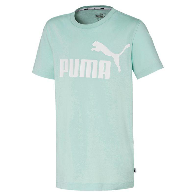 Puma Kids' Essential Logo T-Shirt Mist Green