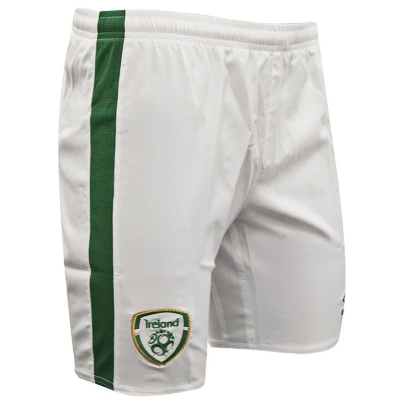 Umbro Republic of Ireland 2021 Men's Home Shorts White
