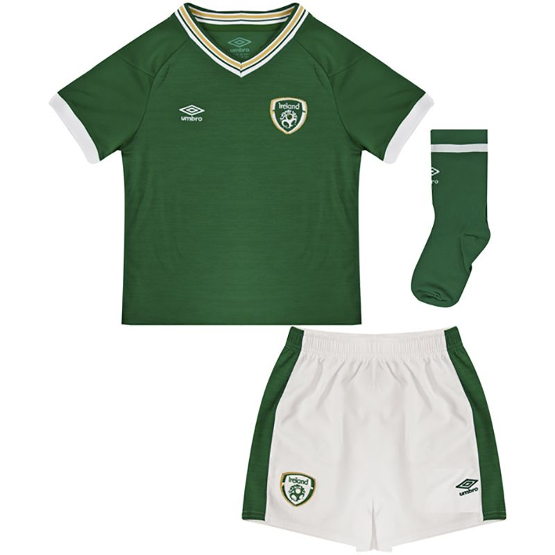 Umbro Republic of Ireland 2021 Kids' Infant Home Kit Green
