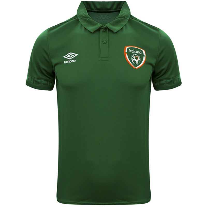 Umbro Republic of Ireland 2021 Men's Polo Shirt Pine Green