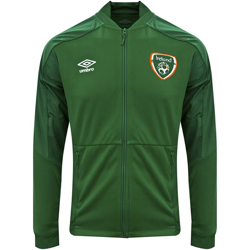 Umbro Republic of Ireland 2021 Men's Anthem Jacket Pine Green