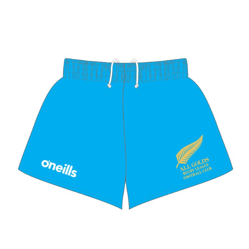 All Golds RLFC Rugby Shorts Kids