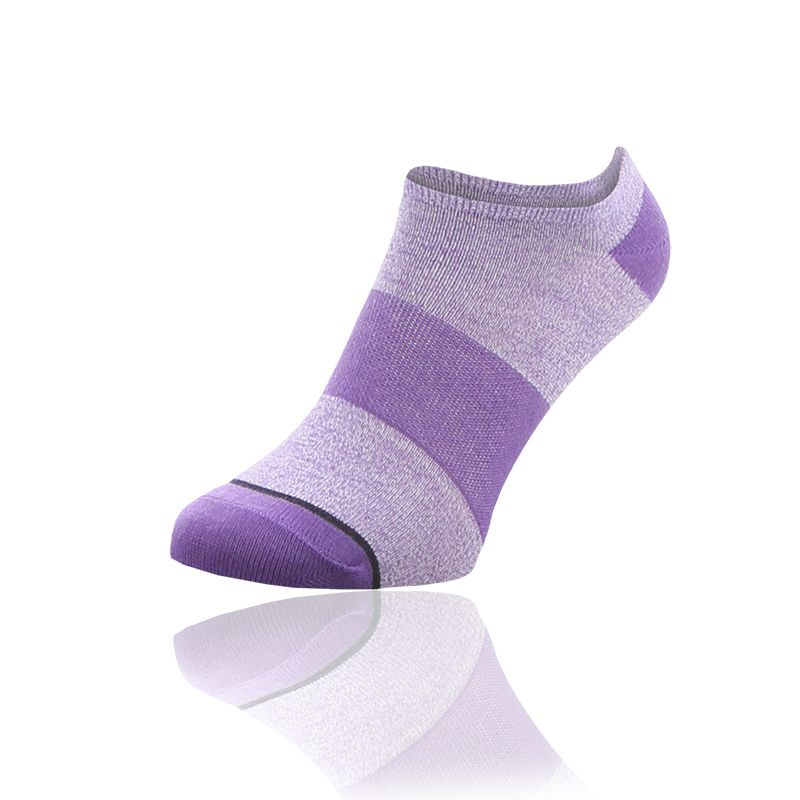 Women's Sof Sole All-Sport Light 6 Pack Socks Purple / Sulphur